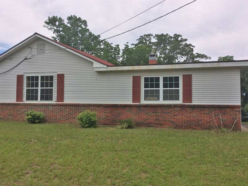 Shiver House : Greenville : Butler County : Alabama