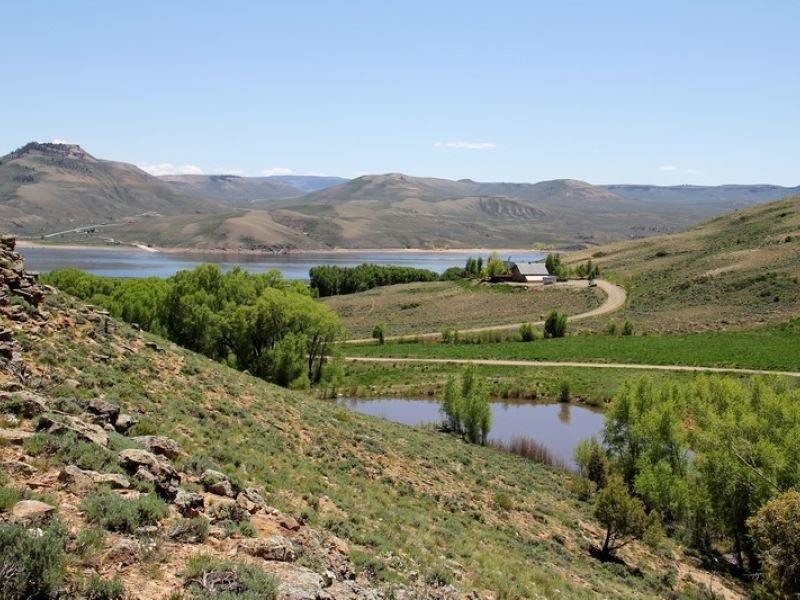 Curecanti Lake Ranch Parcel 2 : Gunnison : Gunnison County : Colorado