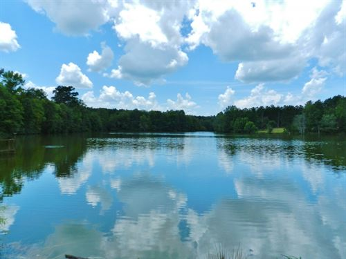 Timberland, 10 Ac Lake, New Price : Haddock : Jones County : Georgia