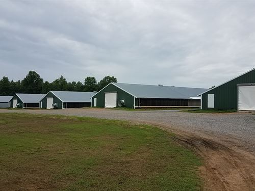 Four House Broiler Farm : Baileyton : Cullman County : Alabama