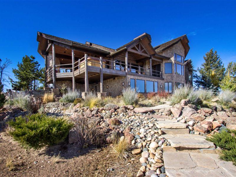 7 Bear Mountain Trail : Tie Siding : Albany County : Wyoming