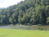 128 Acre Farm Features A Mile Of S : Tazewell : Hancock County : Tennessee