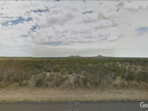 Commercial Acreage Along Us Hwy 67 : Ft Stockton : Pecos County : Texas
