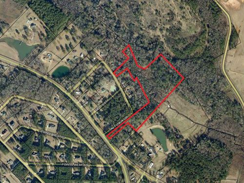 20+ Acres Hunting Land With Creek : Dublin : Laurens County : Georgia