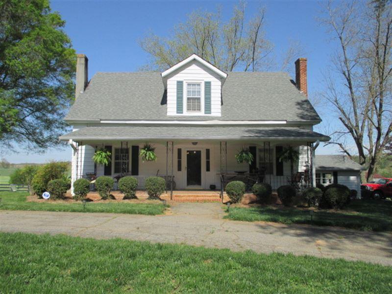 40 +/- Ac, Pre-Civil War Farm House : Ranch for Sale ...
