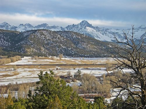 Mangold River Ranch : Ridgway : Ouray County : Colorado