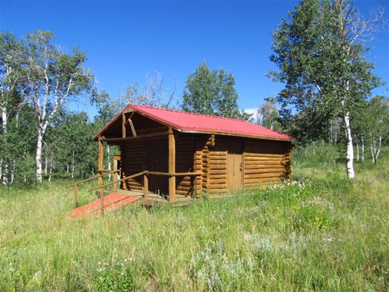 Cabin At Stemp Springs Ranch For Sale Savery Carbon