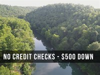 Direct River Frontage In The Ozarks : Lebanon : Dallas County : Missouri