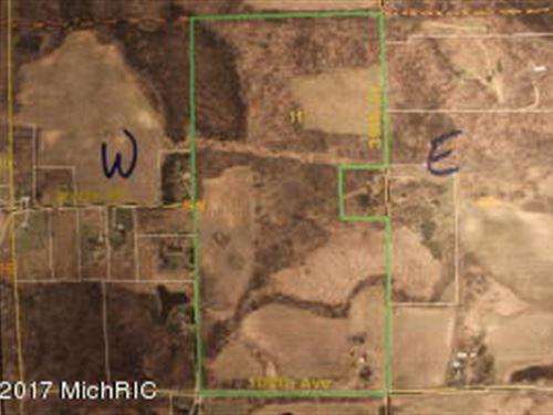Field, Farm And Woods : Allegan : Michigan