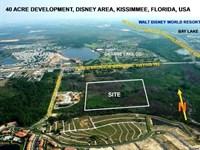 40+/- Acre Prime Development Site : Kissimmee : Osceola County : Florida