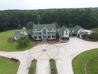 11,000Sf Home On 500+ Acres : Brantley : Crenshaw County : Alabama