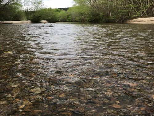 Land On Beautiful McGehee Creek : Meadville : Franklin County : Mississippi