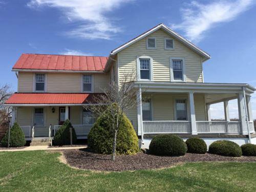 57+/- Acres Land, Home : Danville : Montour County : Pennsylvania