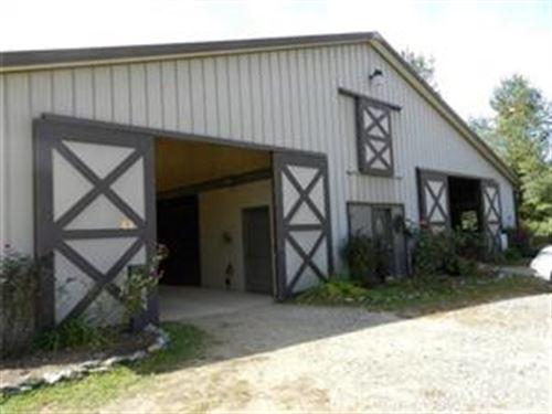 Unique Equestrian Facility : Boone : Watauga County : North Carolina