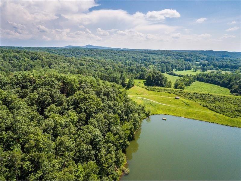 Gated Lakefront Estate For Sale : Jasper : Pickens County : Georgia