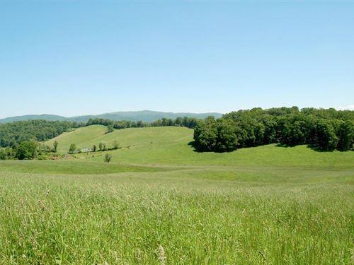 Auction- Picturesque 338 Acre Farm : Draper : Pulaski County : Virginia