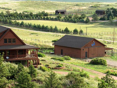 Juniper Ridge : Laporte : Larimer County : Colorado