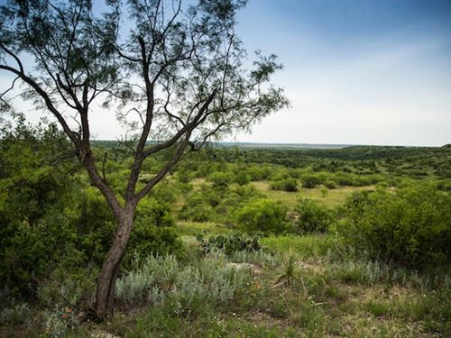 Comanche Crest Ranch : Throckmorton : Texas