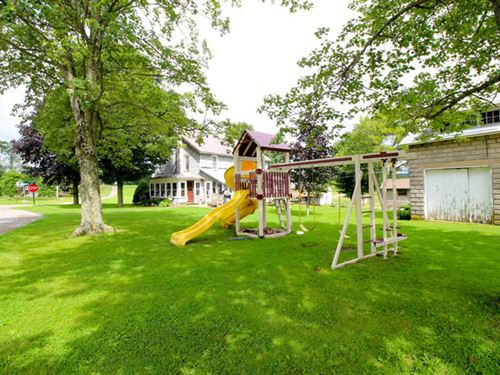98+/- Acre Farm, 2 Homes : Forksville : Sullivan County : Pennsylvania