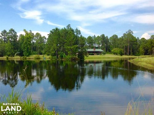 Secluded Home And Private Property : Adrian : Laurens County : Georgia