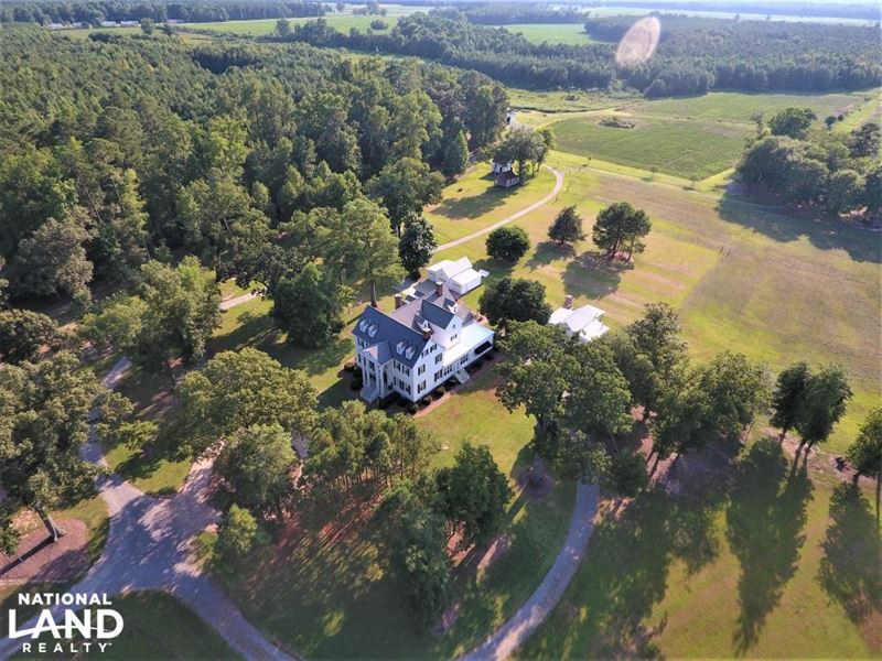 Shell Castle Plantation : Enfield : Halifax County : North Carolina