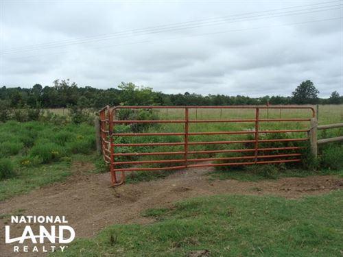 80 Acres Pasture & Hunting : Rose Bud : White County : Arkansas