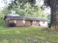 3 Br 2 Ba House 20 Acres Farm Sw Mi : Tylertown : Walthall County : Mississippi