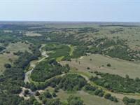 Plum Creek Range And Creek : Johnstown : Brown County : Nebraska