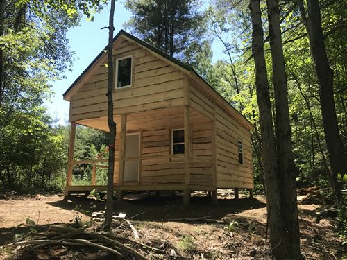 Cable Road Cabin : Amboy : Saint Lawrence County : New York