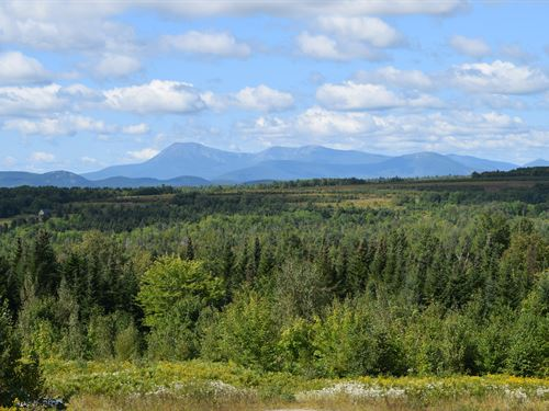 Mt. Katahdin Views & Acreage : Patten : Penobscot County : Maine
