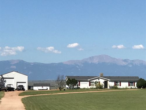 Live. Work. Play: 35 Acre Retreat I : Calhan : El Paso County : Colorado