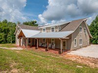 59 Acres, Custom Home, Swan Creek : Hampshire : Lewis County : Tennessee