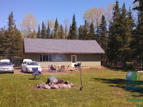 Cabin With 40 Acres Bayfield Cty Wi : Port Wing : Bayfield County : Wisconsin