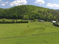 For Sale 340 Acres Kimberling Creek : Bland : Bland County : Virginia