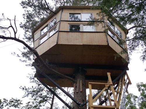 Treehouse - Zip Line - Hunting : Clayton : Pushmataha County : Oklahoma