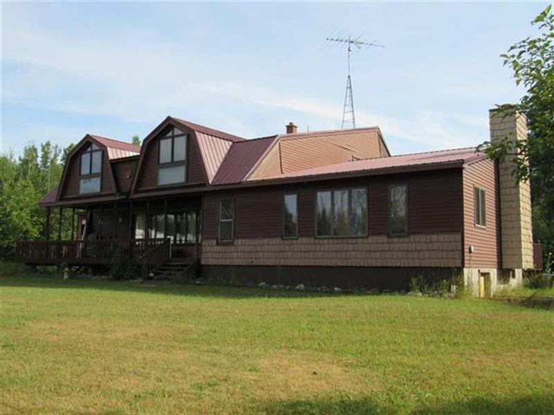 14218 Himanka Hill Rd 1104550 : Bruce Crossing : Ontonagon County : Michigan