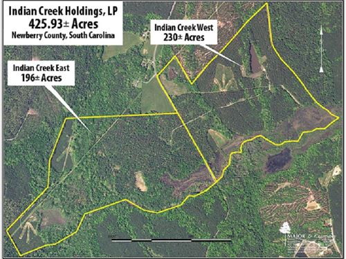 Superior S. Carolina Hunting Land : Kinards : Newberry County : South Carolina