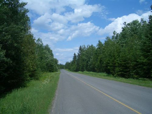 24 Acres In Winterville, Me : Winterville : Aroostook County : Maine
