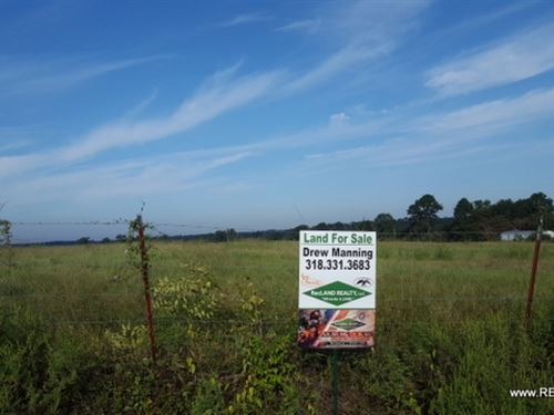 40.1 Ac - Pasture For Home Site : Farmerville : Union Parish : Louisiana