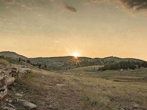 China Wall Ranch : Laramie : Albany County : Wyoming