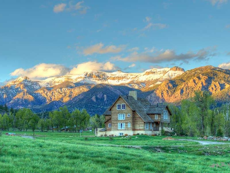 mountain spirit on the navajo   ranch for sale   chromo