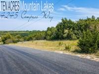 10.16 Acres In Erath County : Bluff Dale : Erath County : Texas