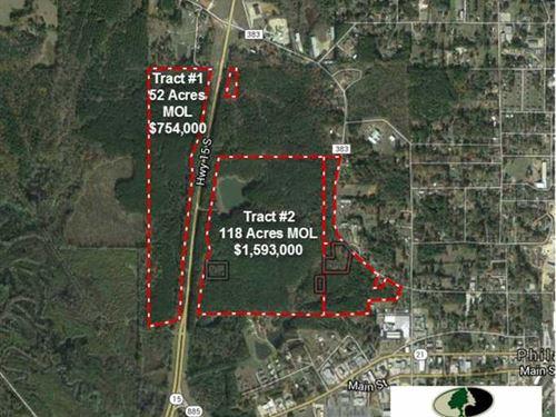 Tract 2 - 118 Acres of Prime Com : Philadelphia : Neshoba County : Mississippi