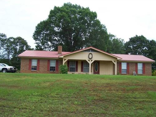 Nice Attractive Rural Home,With : Carthage And Kosciusko,Ms. : Leake County : Mississippi