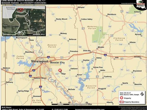 Cane Bend of South Bossier, Bossie : Haughton : Bossier Parish : Louisiana