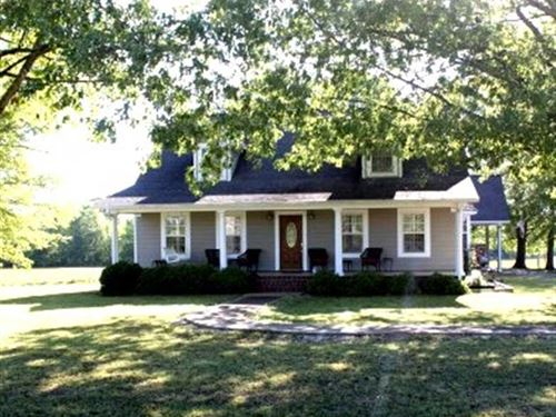 Country Living, Home And 35 Acres : Aliceville : Pickens County : Alabama