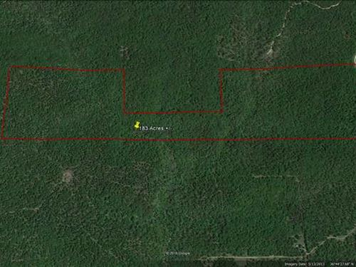 183 Acres For Sale in Ripley Count : Doniphan : Ripley County : Missouri