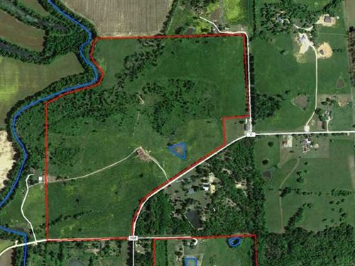 120 Acres of Livestock Pasture And : Harviell : Butler County : Missouri