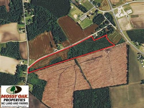 Under Contract, 23 Acres of Farm : Harrells : Sampson County : North Carolina