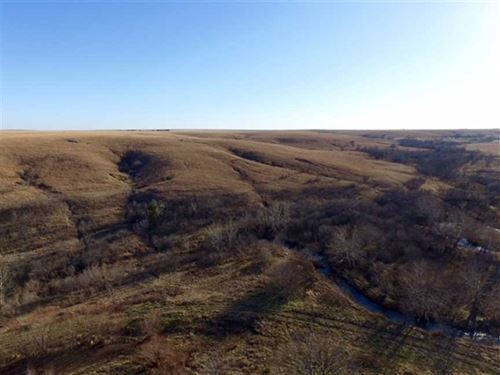 Price Reduced, Pasture And Hunting : Eureka : Greenwood County : Kansas